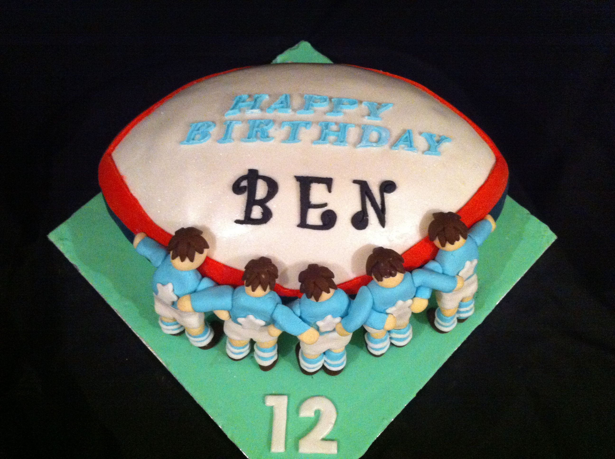 Garryowen rugby cake by Kennedy OBrien Cakes Limerick Cakes