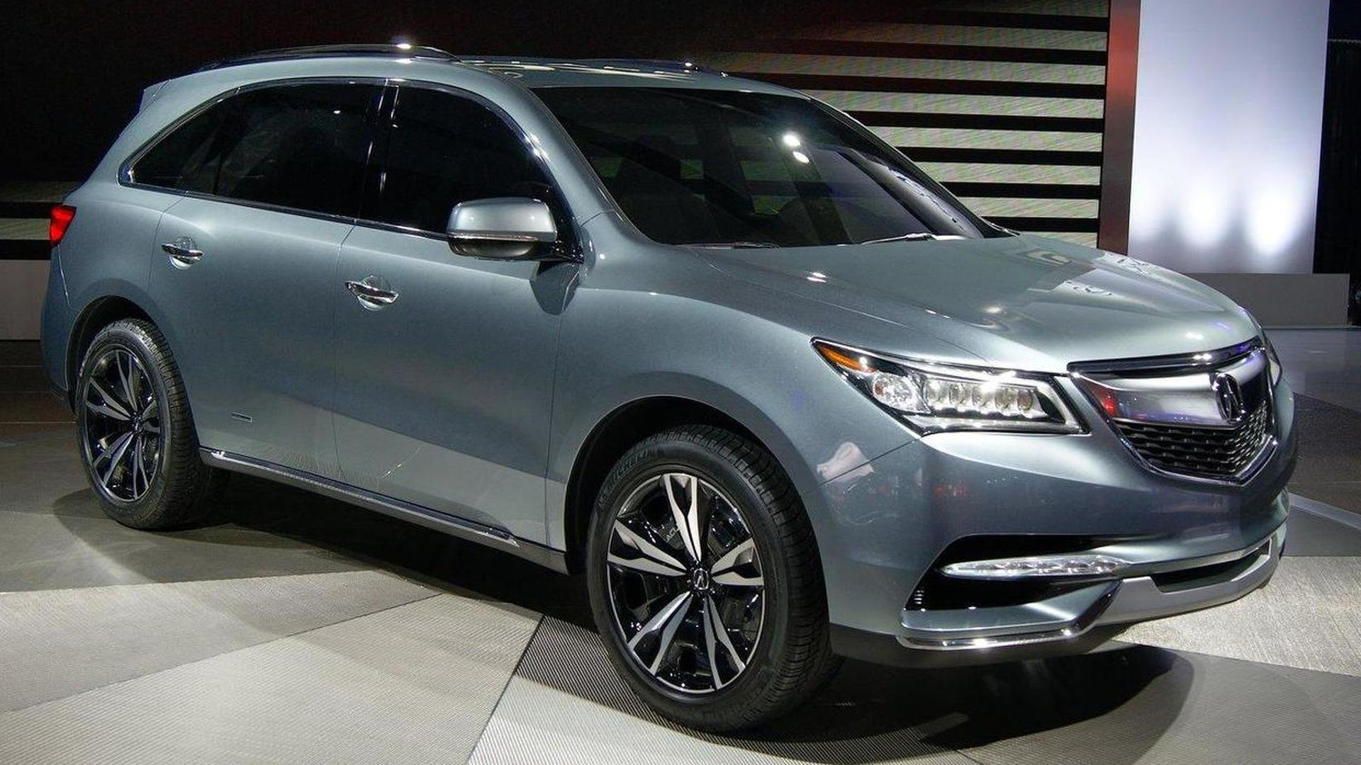 presented at the detroit motor show the acura 2014 mdx