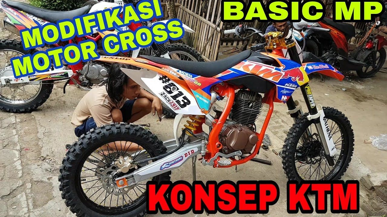 Modifikasi Motor Cross Ktm