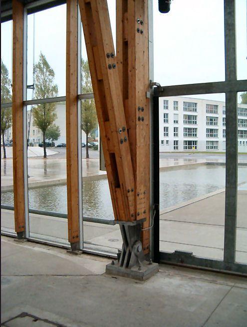 Mont Cenis Academy Hout Staal Constructies Bouwkundige