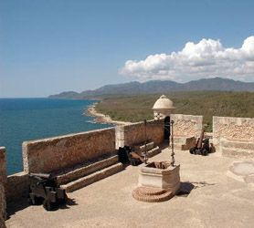 San Pedro de la Roca #Castle or, as its known locally, El Morro de http://CubaSantiagodeCuba.com, is a similar fortifaction to the El Morro Castle in Havana which was designed primarily as a fortress to protect the harbor mouth against pirates and other unwelcome guests.