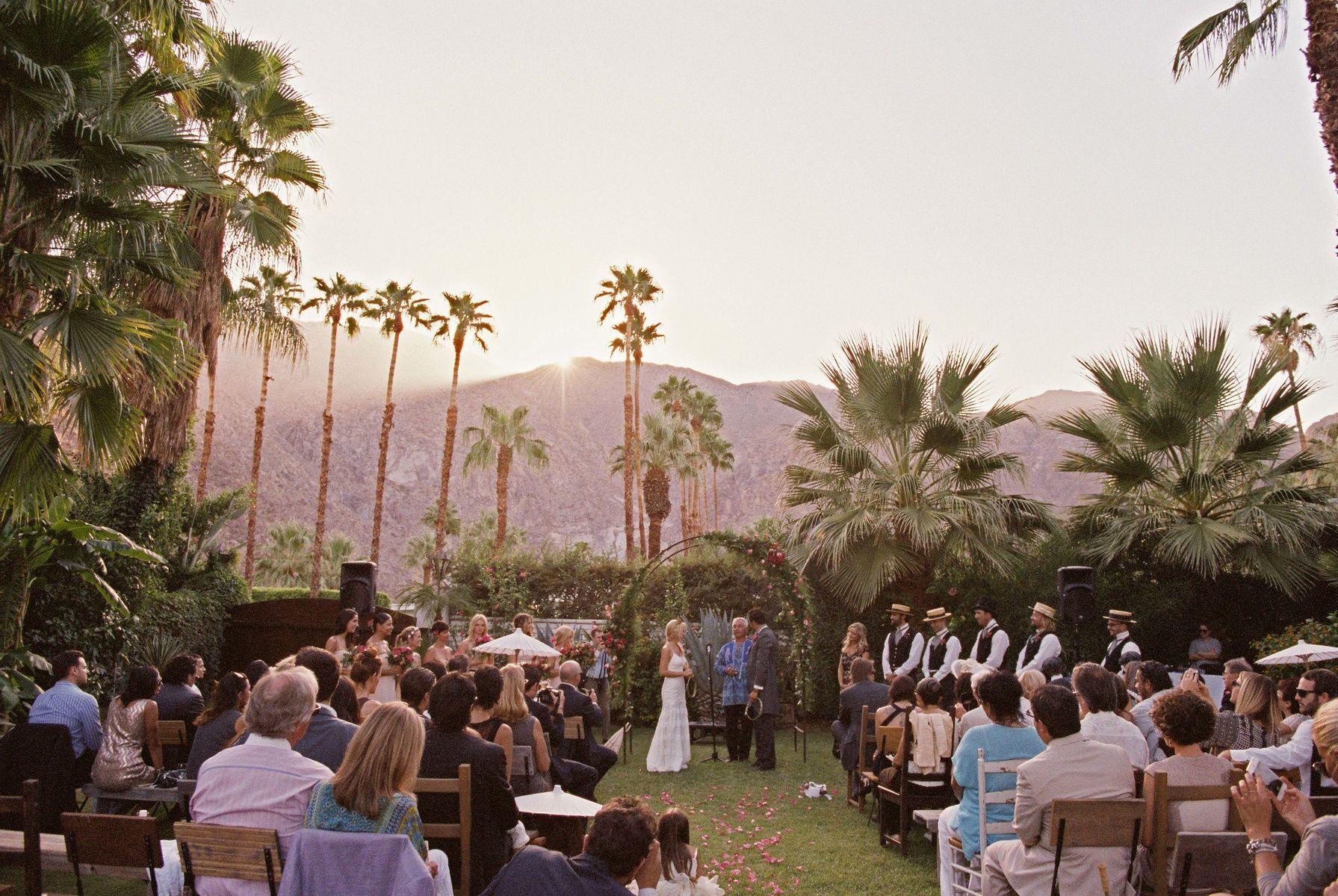 palm springs wedding at casa de monte vista palm springs