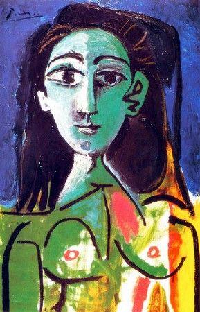 P. Picasso - Femme assise Jacqueline (1963) | Picasso | Pinterest ...