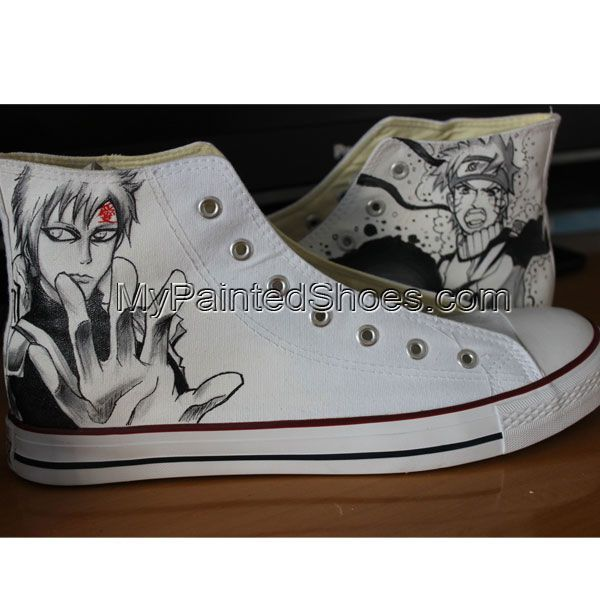 1508c2990997 Naruto Anime Gifts Custom Converse Unique Gifts Painted Converse ...