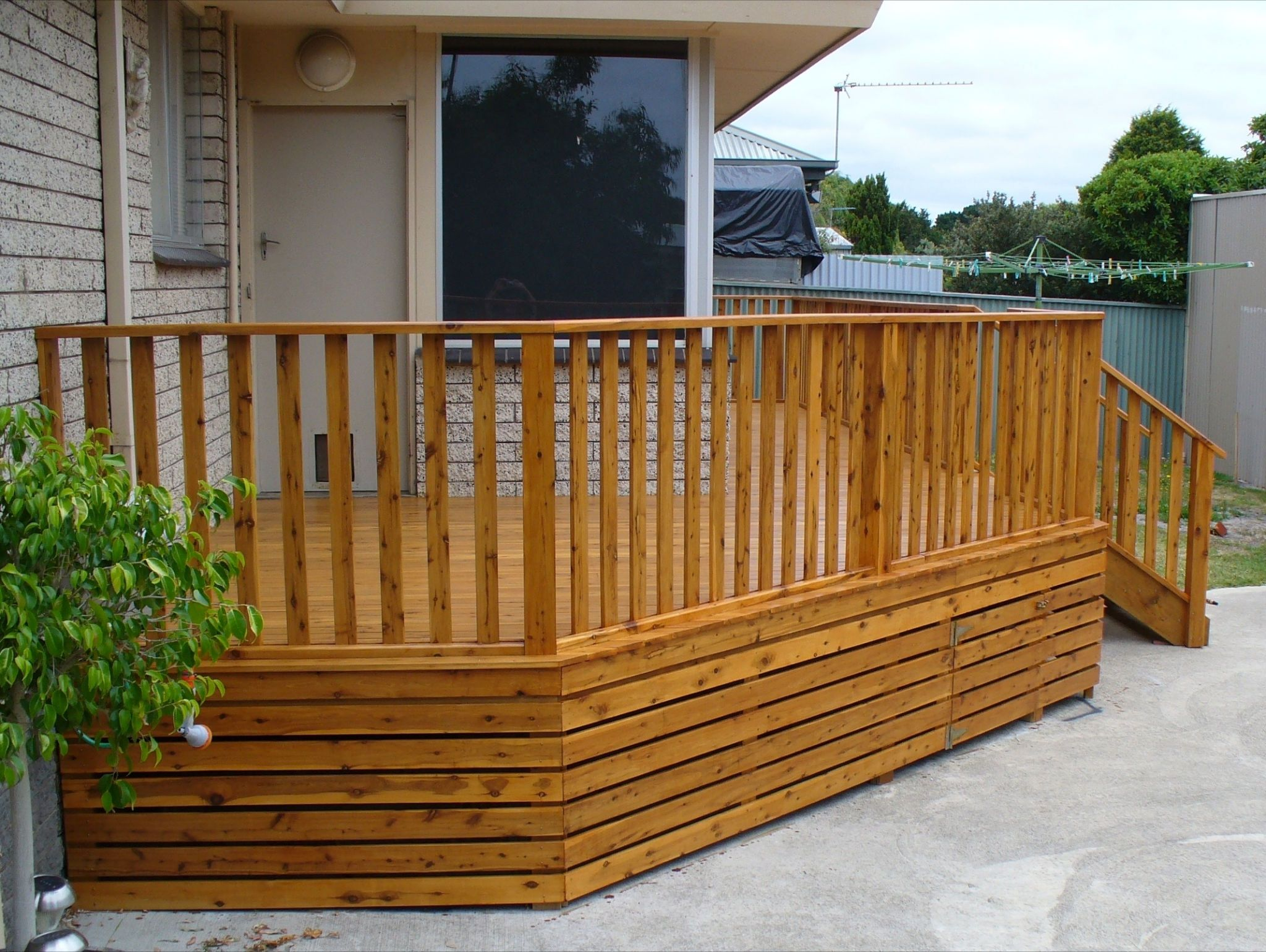 15 Superb Deck Design Cool Deck Skirting Ideas for Every Home