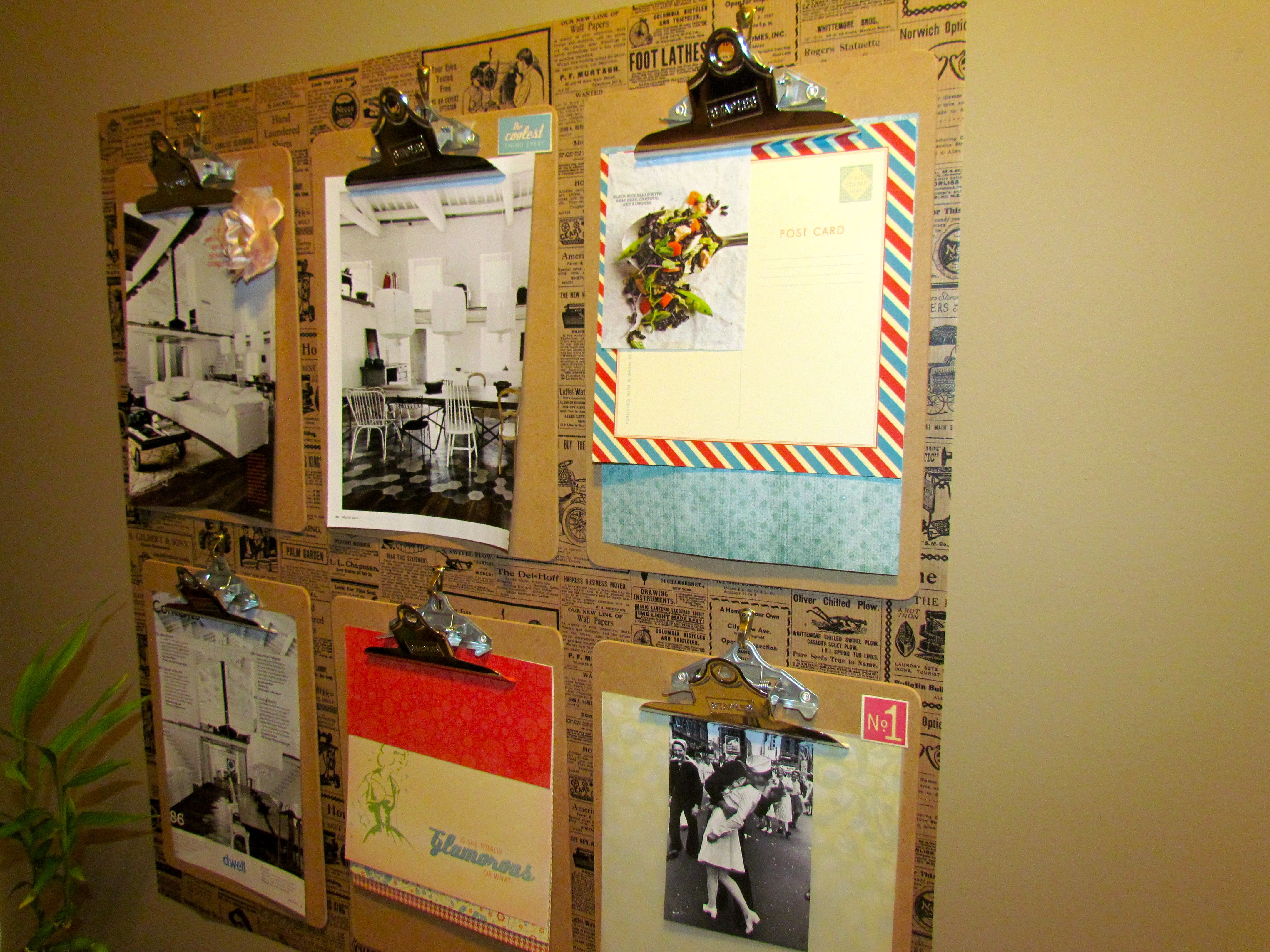 Pinterest Do It Yourself | ... Clipboards Wall Decor Diy Do It Yourself Home