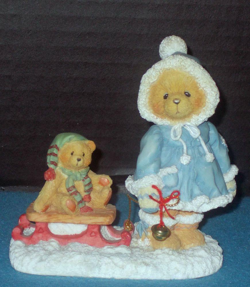 "Cherished Teddies, ""MARY"" Enesco, Ltd Ed, Retired  1995 with Her Box-# 912840 #CherishedTeddies"