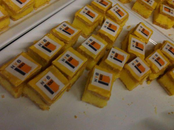 Nog meer lekkere gebakjes bij het Jubileumcongres van de NVB in het Beatrixtheater te Utrecht. #NVB100