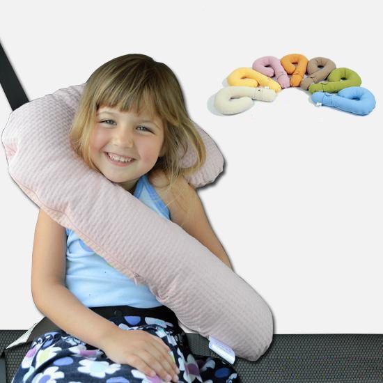 car seat belt doll controller travel neck pillow kids sleep cushion toy korea home