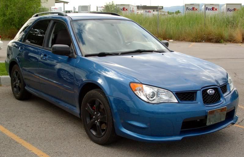 2007 subaru impreza 2 5i wagon with