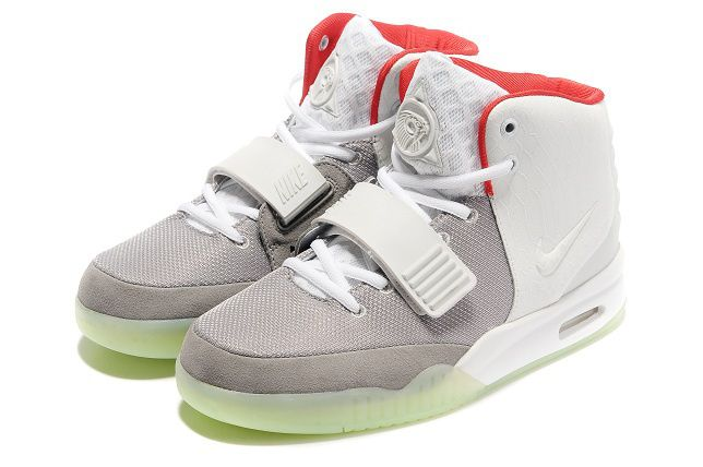quality design 5ccba 55b4b ナイキ Nike Air Yeezy 2 エアイージー 2 カニエ ウェスト ライト ホワイトレッド Nike0227