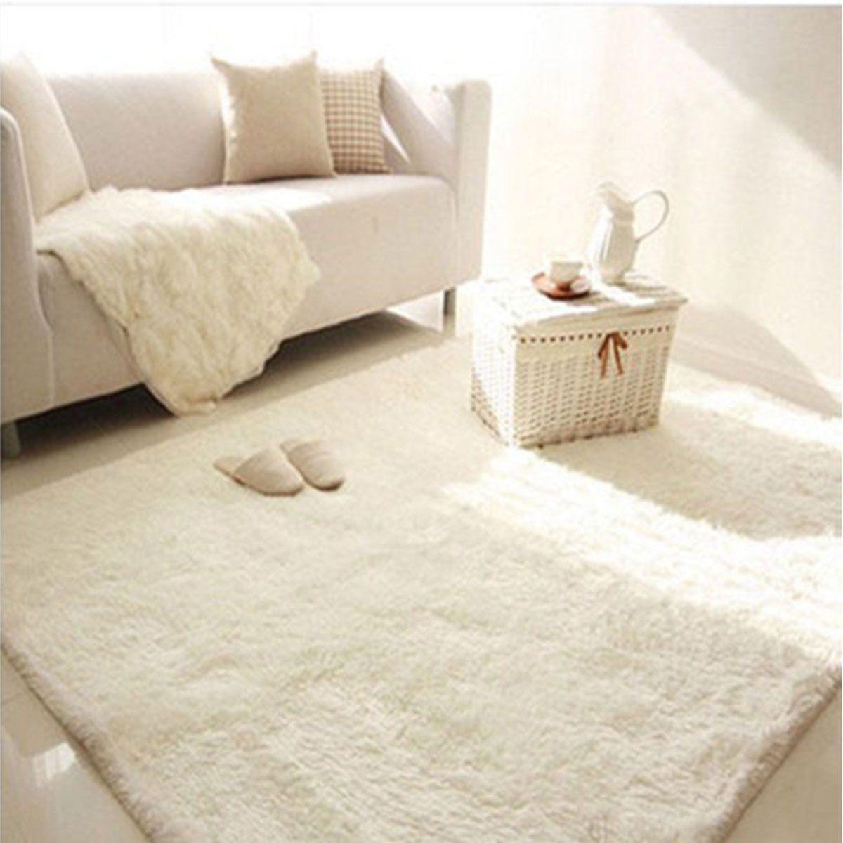 Soft Fluffy Floor Rug Anti Skid Shag Shaggy Area Rug Bedroom Dining Room Carpet Yoga Mat Child Play Mat Walmart Com In 2020 Buying Carpet Room Carpet Textured Carpet