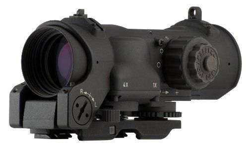 ELCAN Specter Dual Role 1x/4x Optical Sight CX5395 Illuminated Crosshair Reticle 5.56mm Black >>> Want to know more, click on the image.