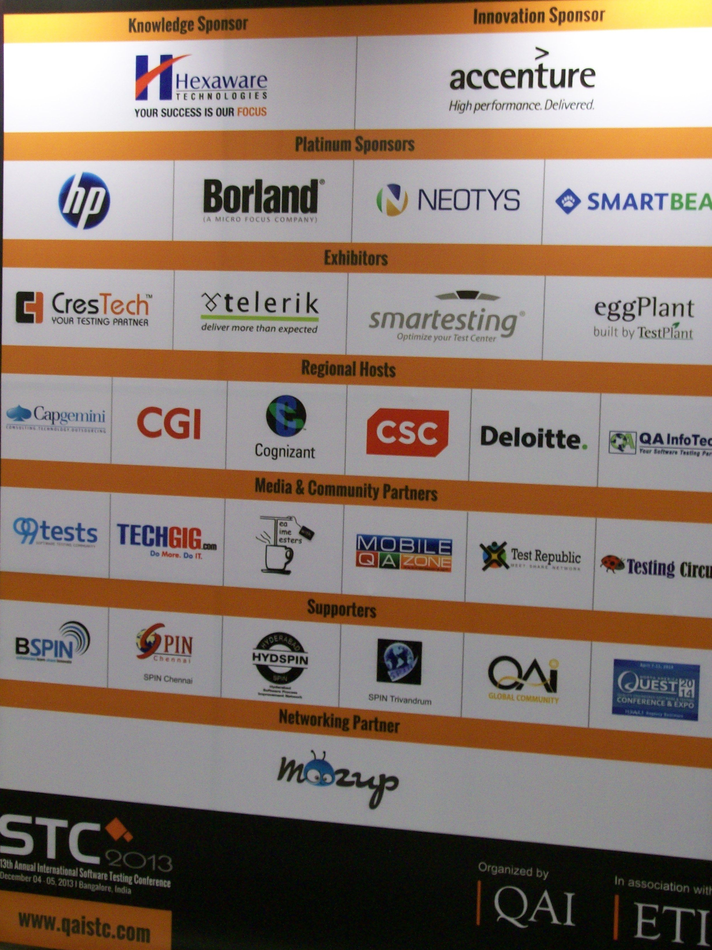 CresTech was one of the sponsors of the event | OpKey at STC