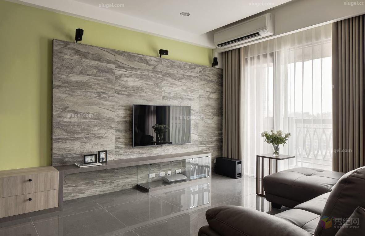 大理石紋電視牆展現細膩質感 電視牆 Pinterest