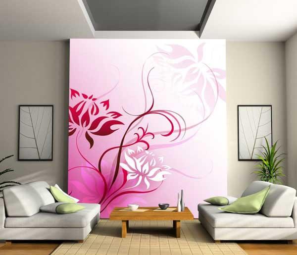 Decorar la Pared con un Mural - Papel pintado : Casas Decoracion ...