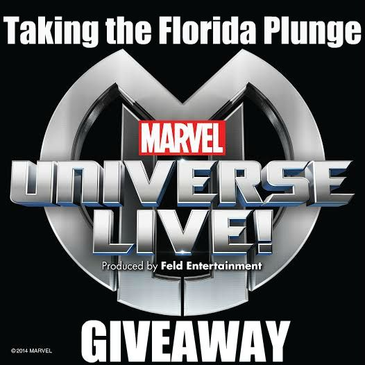 Win 4 Tickets to see Marvel Universe Live at The Amway Center in Orlando Florida on 12/7 at 7pm.