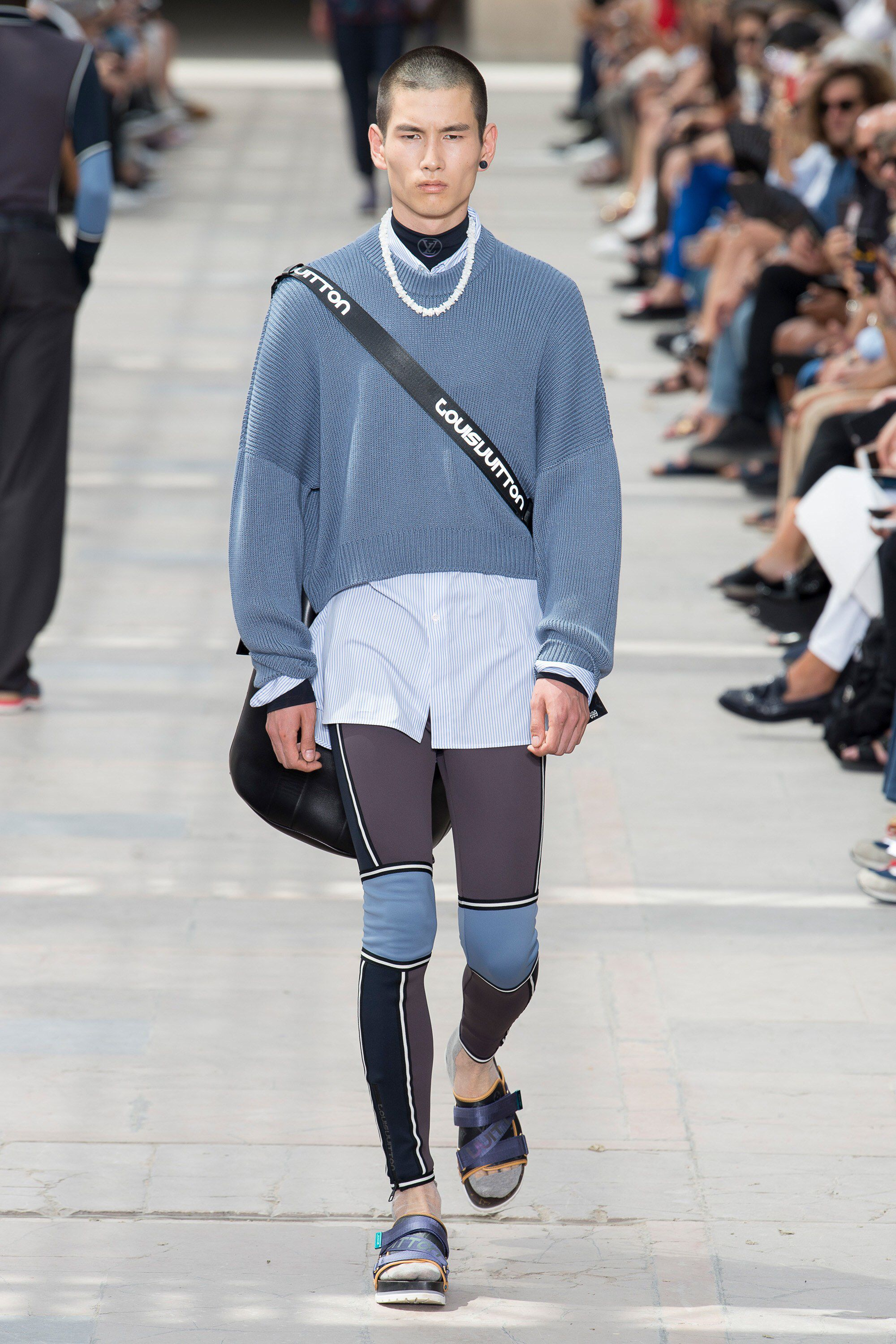 Vuitton louis mens spring runway forecasting dress in spring in 2019