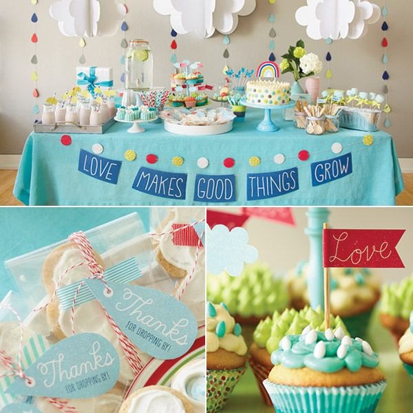 Love Makes Good Things Grow Baby Shower Theme In 2019 Diy