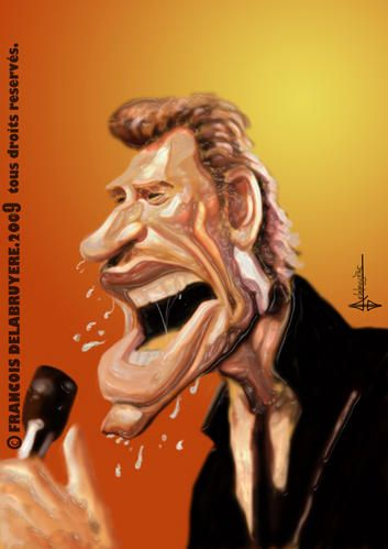 Johnny Hallyday Caricatures Johnny Hallyday In 2018 Pinterest