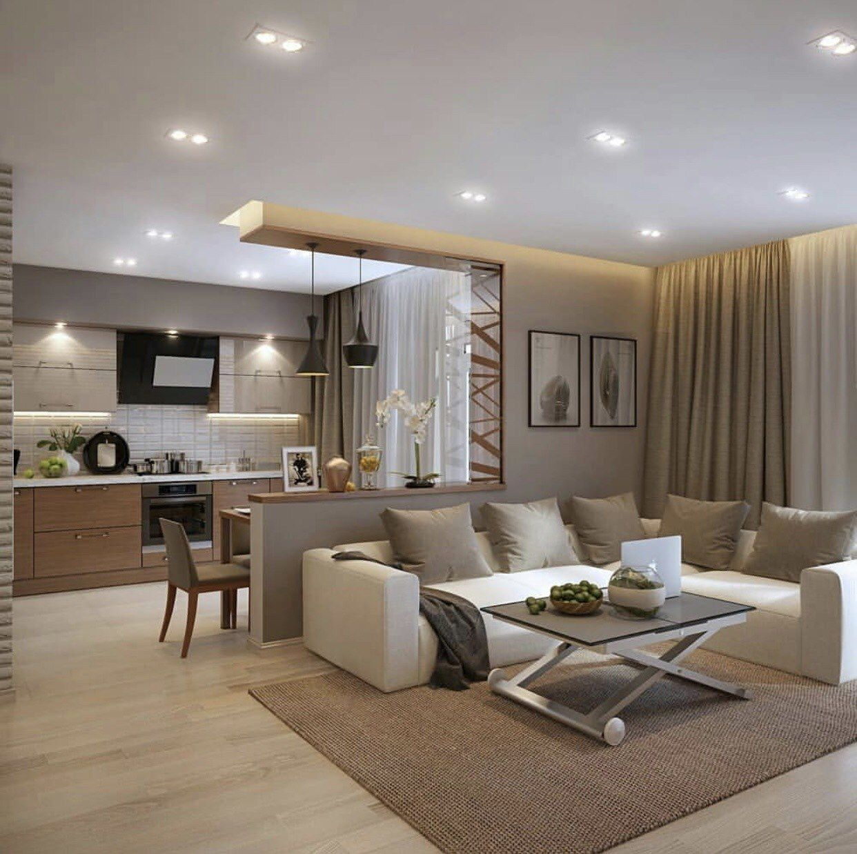 20 Fresh Open Kitchen Design Ideas That You Ll Love In 2020 Casual Living Room Design Minimalist Living Room Decor Casual Living Rooms