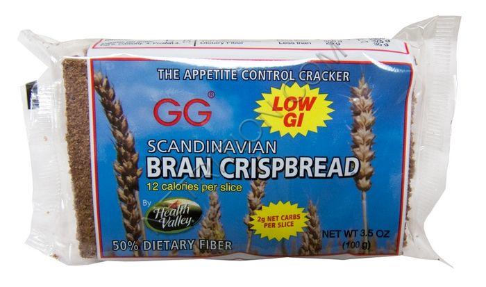 Gg Scandinavian Bran Crispbread At Netrition Com Gg Crackers Cracker Toppings Carbs