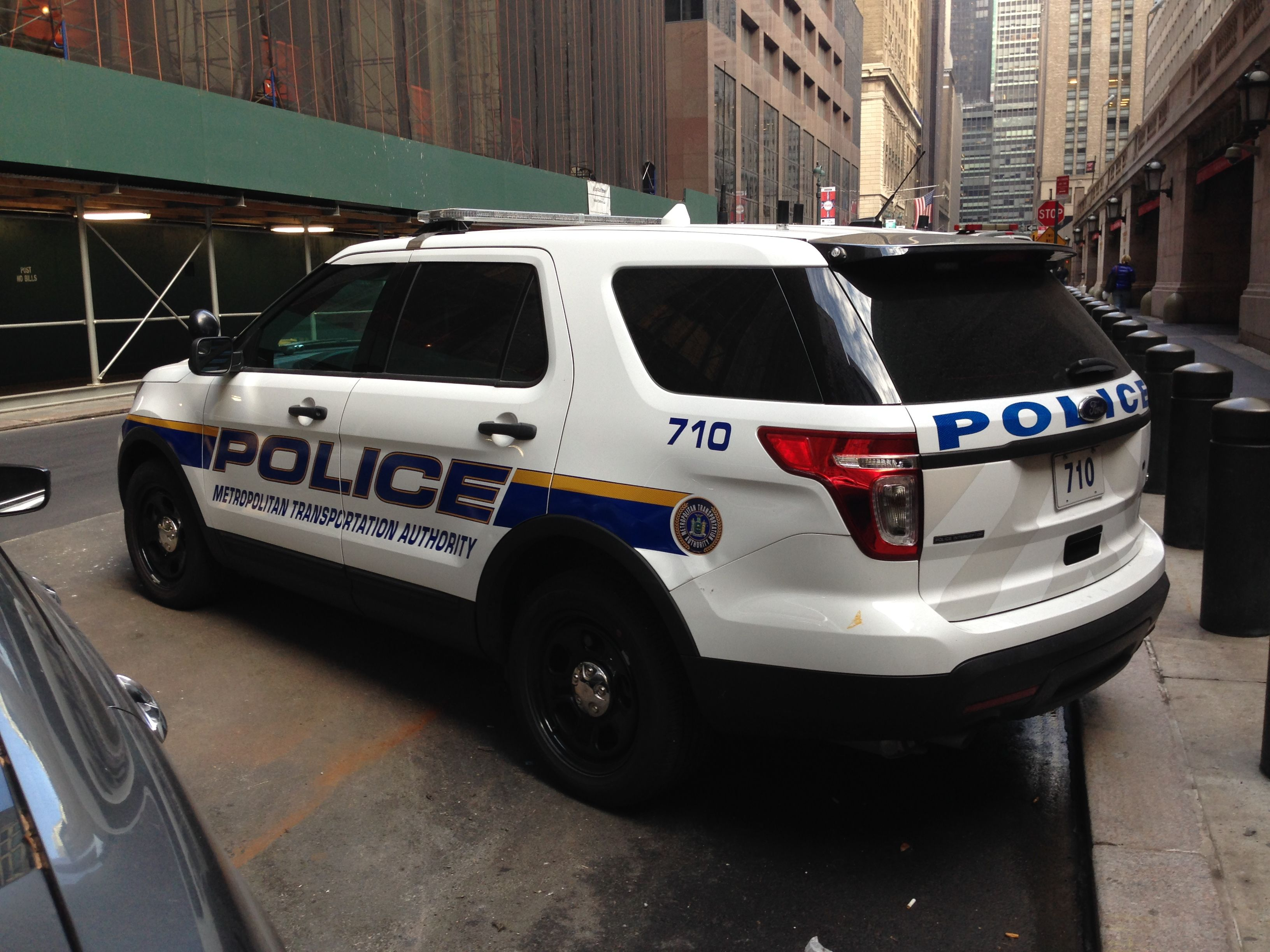 Mta Police Department Ford Interceptor Suv Nyc Ford Police