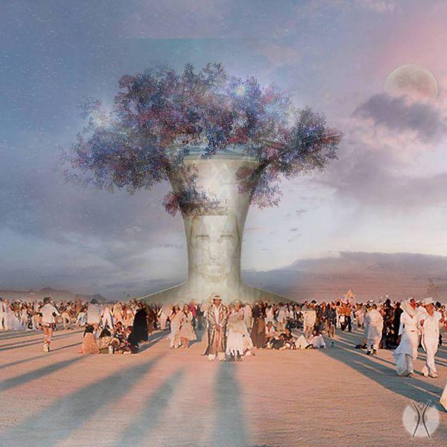 The Tree of Life  burnerlifestyle  burningmanart  burningman 2018 Art  Installations  cb00d6766