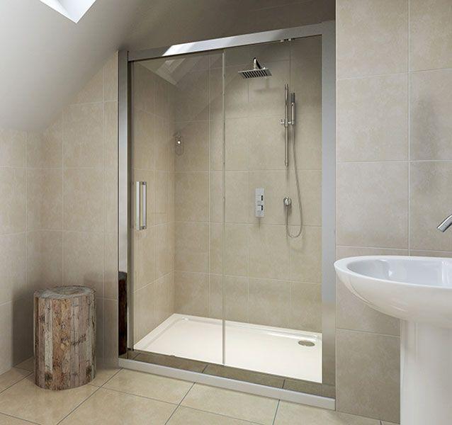 6mm Framed Sliding Door 1000mm V10111029ab Scene Square Large Shower Doors Sliding Shower Door Bathrooms Remodel