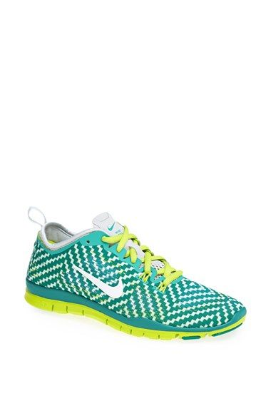 the best attitude f5982 c5b3b Do these shoes not have an incredible amount of Sic em ! ! Sic em Baylor  Bears! Nike  Free 5.0 TR Fit 4  Print Training Shoe (Women) available at   Nordstrom