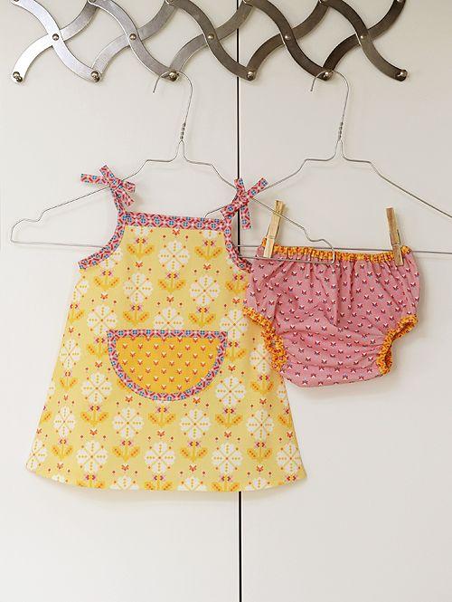 Dress & Pants / Dress & Bloomer | Cute for Wren | Pinterest