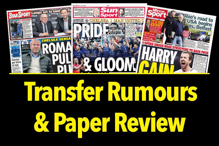 Rumours Talksport Com Rounds Up All The Latest Transfer News And Football Gossip From Sunday S Papers And Online Transfer News Manchester United Man United