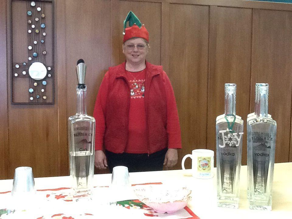 Deanna at RiverSands Distillery