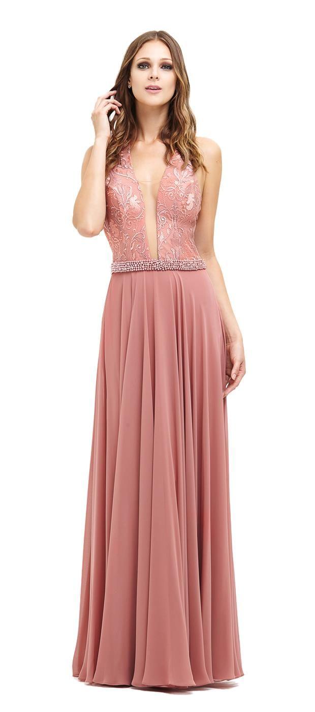 Top 09 vestidos longos para comprar online! | Vestidos, Chic dress ...