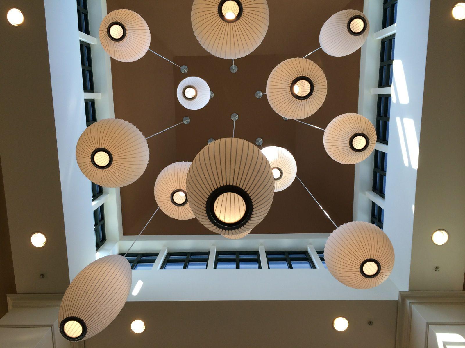 Lobby Lanterns | Hilton Garden Inn Fishkill NY | Pinterest