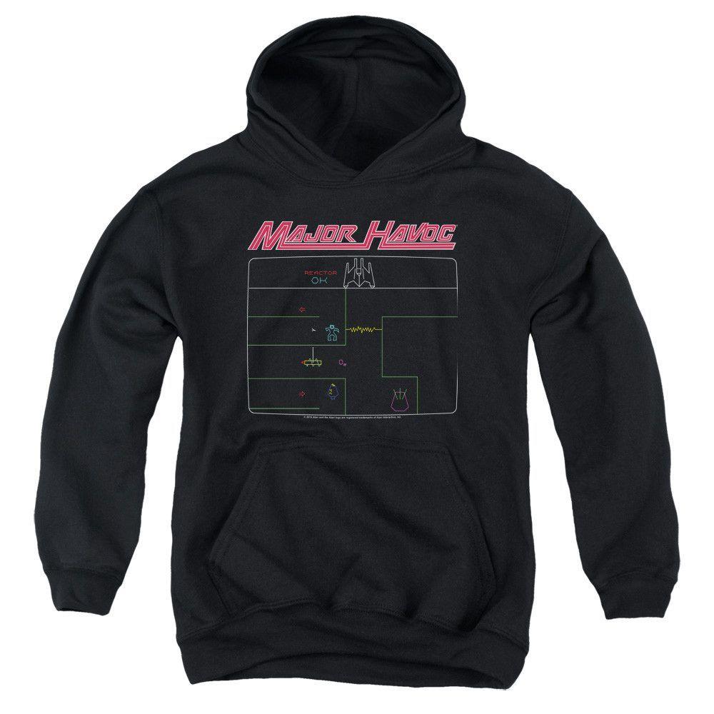 Atari Major Havok Screen Youth Pull-Over Hoodie