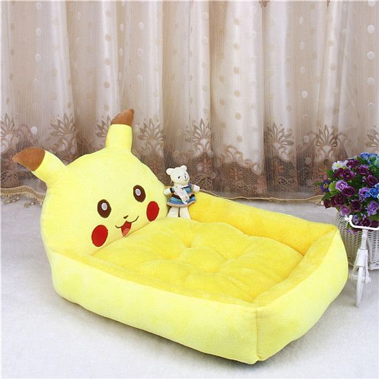 Adorable Cartoon Animal Pet Bed
