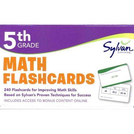 Fifth Grade Math Flashcards
