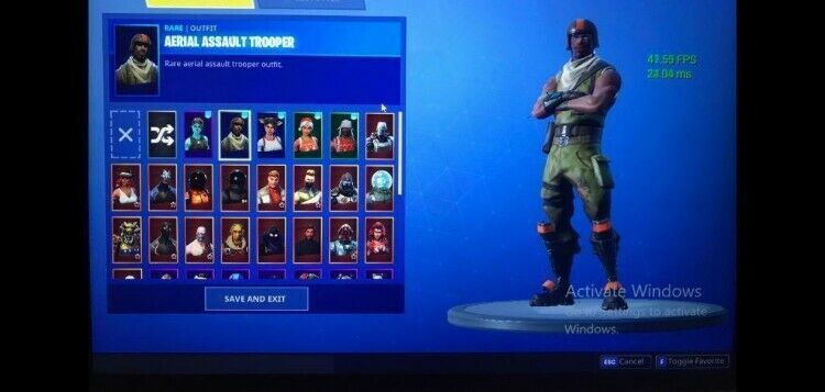 Cheap Extremely Og Aerial Assault Trooper And Ghoul Trooper Fortnite