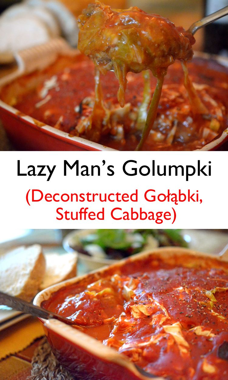 Stuffed cabbage lazy - quickly, but tasty 44