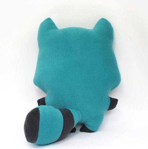 PDF sewing pattern - Raccoon stuffed animal kawaii woodland plushie ...