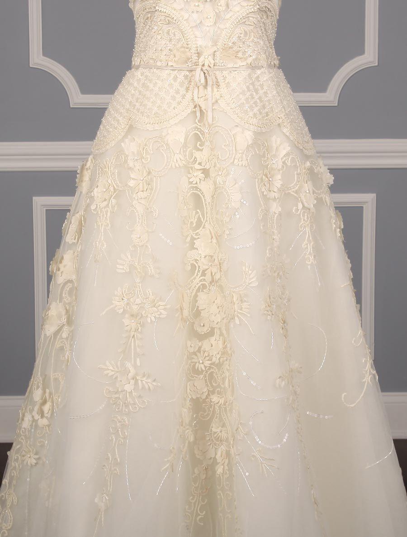 Carolina herrera amore 32415 wedding dress for sale