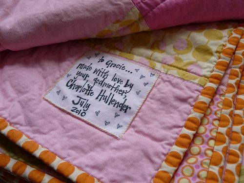 Need a reason to put a label on your quilt? Find lots of good ones ... : quilt labels samples - Adamdwight.com