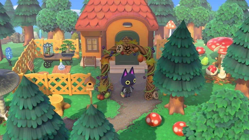 Kiki's witchy little house in the forest. ac_newhorizons