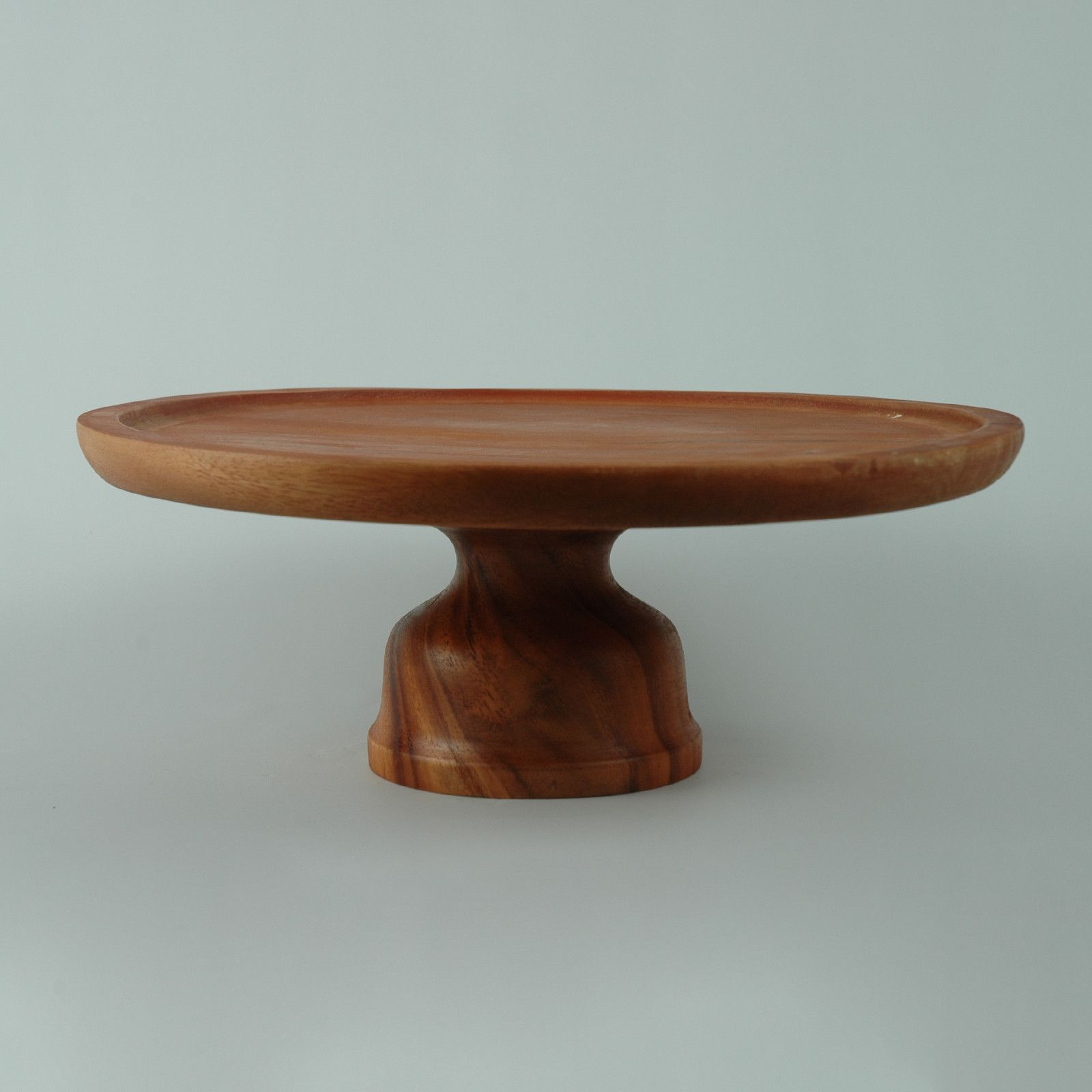 Adcraft wcs414 13 cake stand wooden wooden cake stand