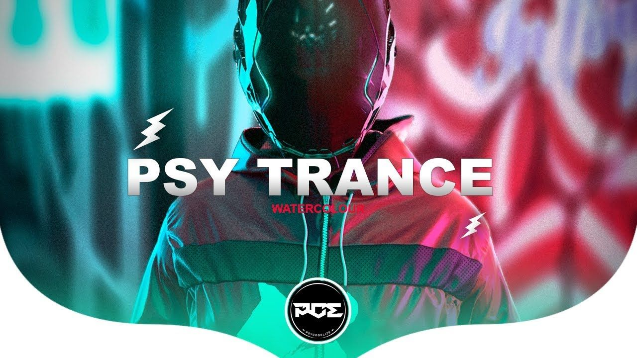 Psy Trance Pendulum Watercolour Mystical Complex Harmonika