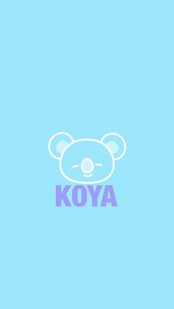 (BT21) Koya wallpaper/lockscreen : (1/8) on We Heart It