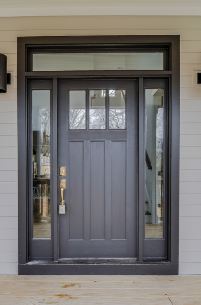 31 Houses With Black Front Entry Door Ideas