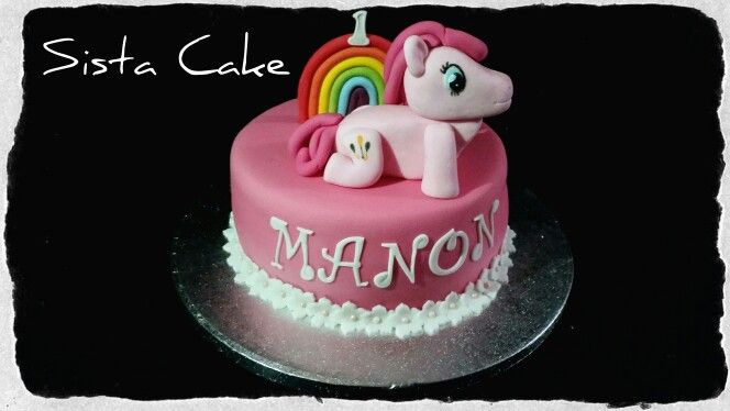 Little poney cake