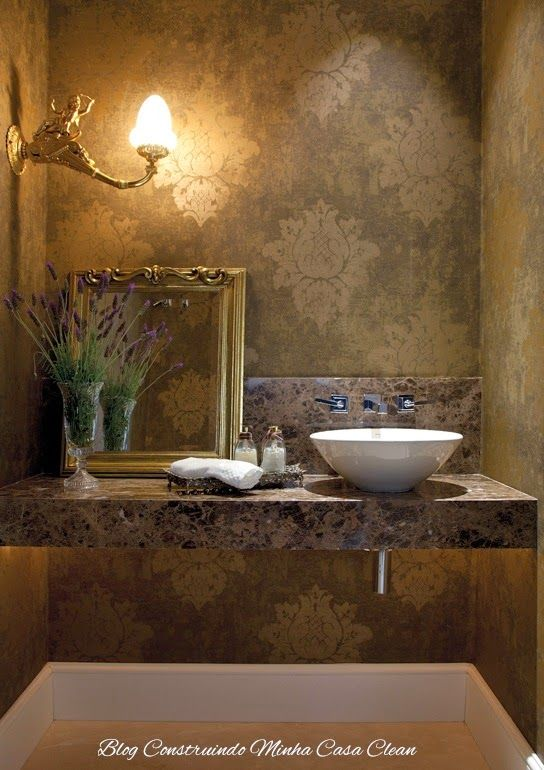 55 Lavabos de Luxo!!! Pequenos e Sofisticados! Baños, Apartamentos